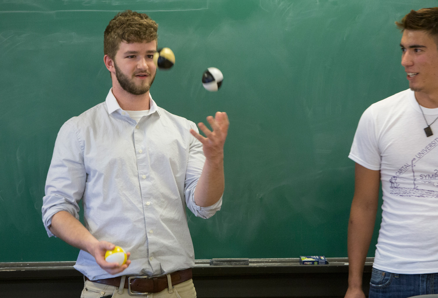 2016 Symposium on Undergraduate Research Juggling Demonstration