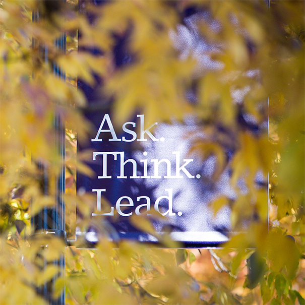 Ask. Think. Lead.