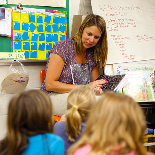 MAEd Teacher in Classroom