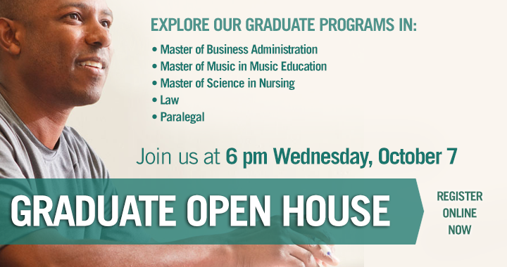 Join us for Graduate Open House