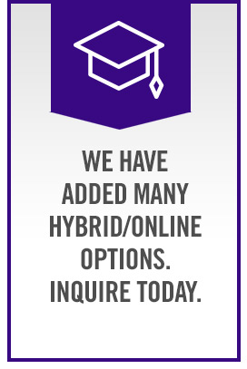 We have Hybrid/Online