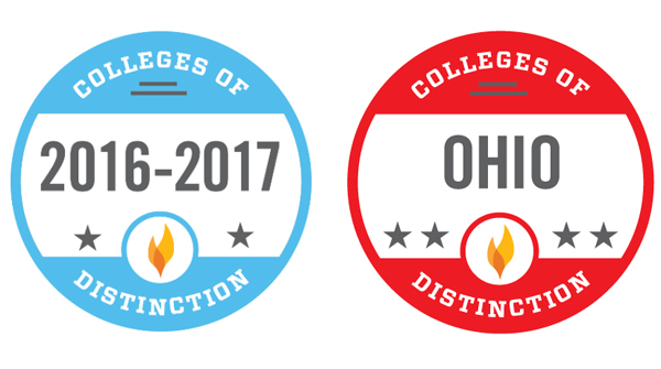 College of Distinction logos 2016-17