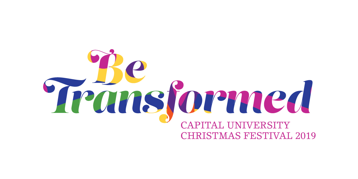 Christmas Festival 2019 Be Transformed Green and Pink