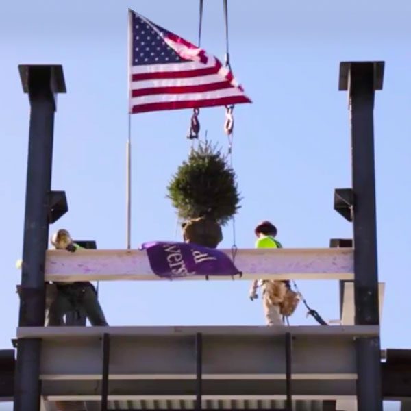 CMC Topping Out Video