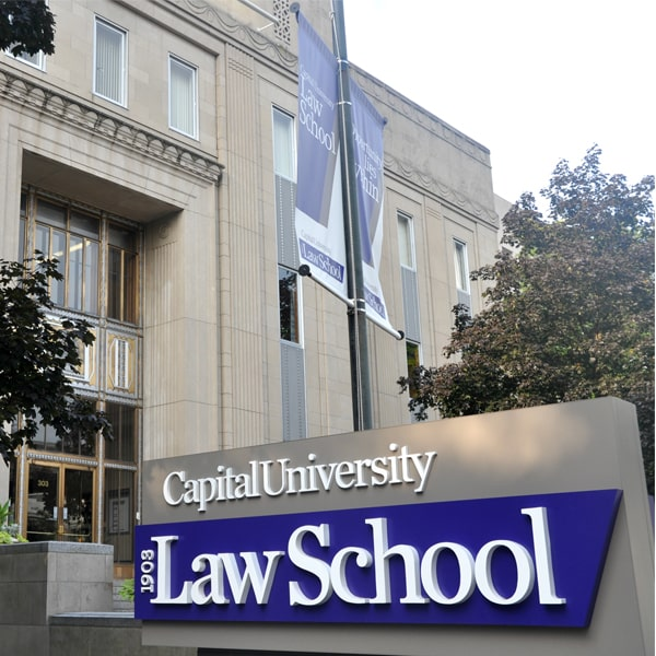 Law School Sign