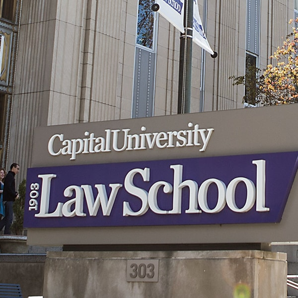 Law School Sign 600x600